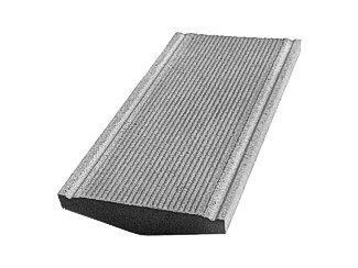 Daszek betonowy na mury i murki ogrodzeniowe (kapelusz betonowy) - okapnik