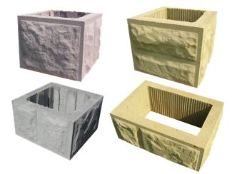 Słupki ogrodzeniowe betonowe