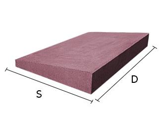 Daszek betonowy jednospadowy na mury i murki ogrodzeniowe 25x50 cm (kapelusz betonowy)