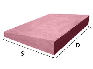 Daszek betonowy jednospadowy na mury i murki ogrodzeniowe 34x46 cm (kapelusz betonowy)